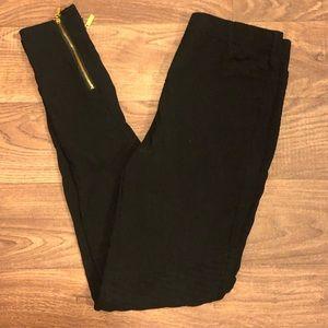 Pants - Ankle zipper moto legging